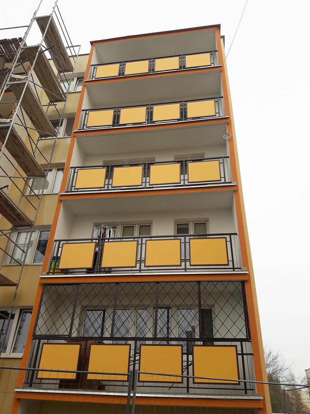 panele balkonowe